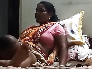 Watch old & young Owner licks Desi maid's pussy