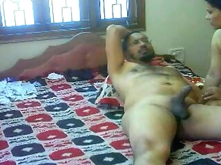 Just See Video #NaziaPathan Indian arab housewife with a sexy butt having sex with her lover - part 2/2 arab